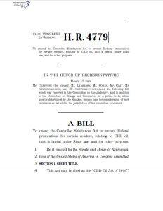 CBD Oil Act of 2016