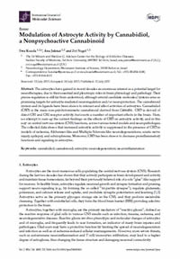 Cannabidiol a Nonpsychoactive Cannabinoid