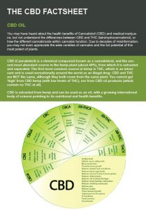 cbd fact sheet